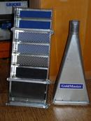 Шлюз Gold Master с расширителем для подачи золотоносных песков через эжектор и шланг